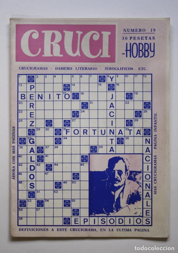 CRUCI-HOBBY Nº 19 (Libros sin clasificar)