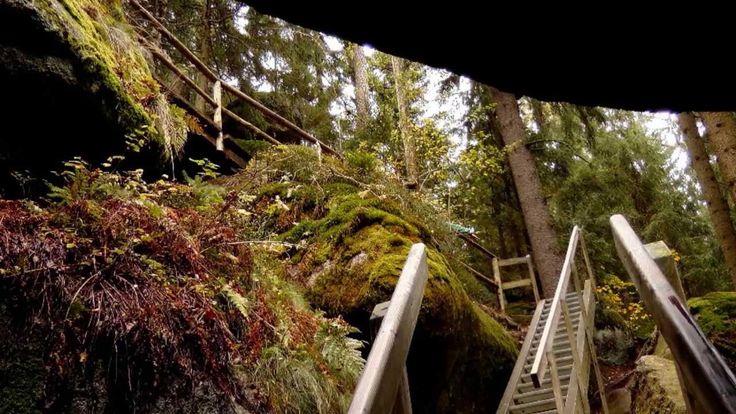 Entdecke Europas größtes Natur Felsenlabyrinth Luisenburg bei Wunsiedel im Fichtelgebirge