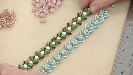 How to Make the Water Lily Bead Woven Bracelet - Video Dailymotion
