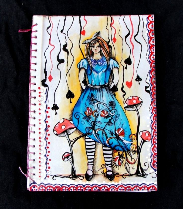 "Jurnal ""Alice in Wonderland"""