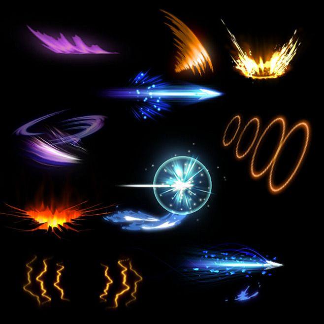 【微元素】500个套精品PNG序列特效图...
