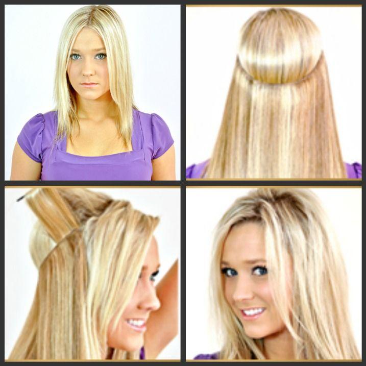 Met Flip in Hair Extension heb je een verlenging in een handomdraai! Bekijk de extensions op http://thrix.nl
