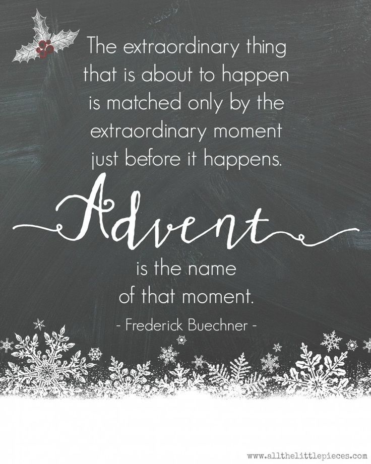 Extraordinary Advent. (Free Printable | Christmas quotes ...