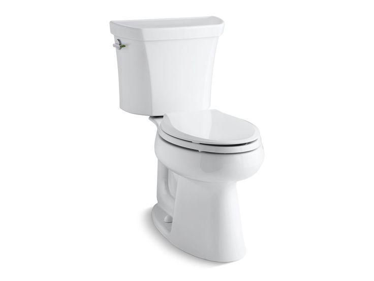 Highline Elongated Dual-Flush Toilet | K-6393 | KOHLER