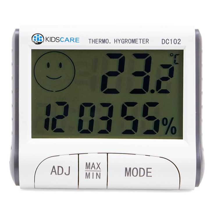 Termometru+si+higrometru+cu+ceas+si+alarma+pentru+o+monitorizare+mai+atenta+a+temperaturii+si+umiditatii+camerei+in+care+locuiti.  Caracteristici+Termometru+si+higrometru+KidsCare+DC102:  -+design+simp...
