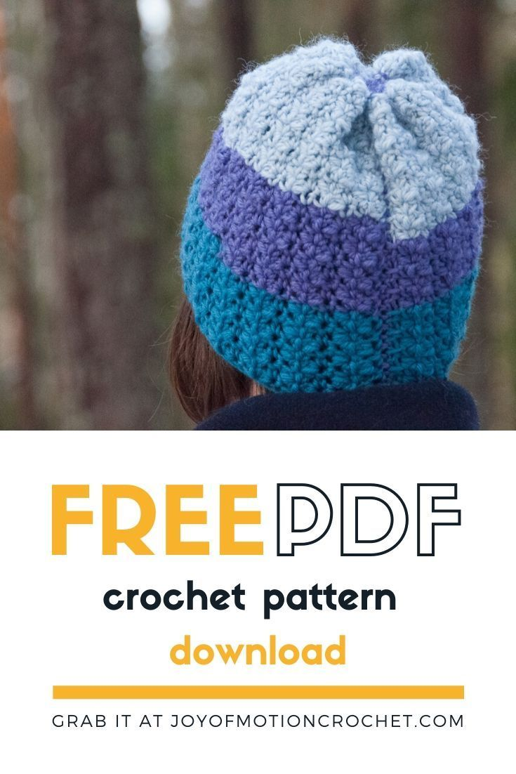 Download your copy of this crochet hat pattern. Easy to follow crochet pattern f… – Crochet Ideas