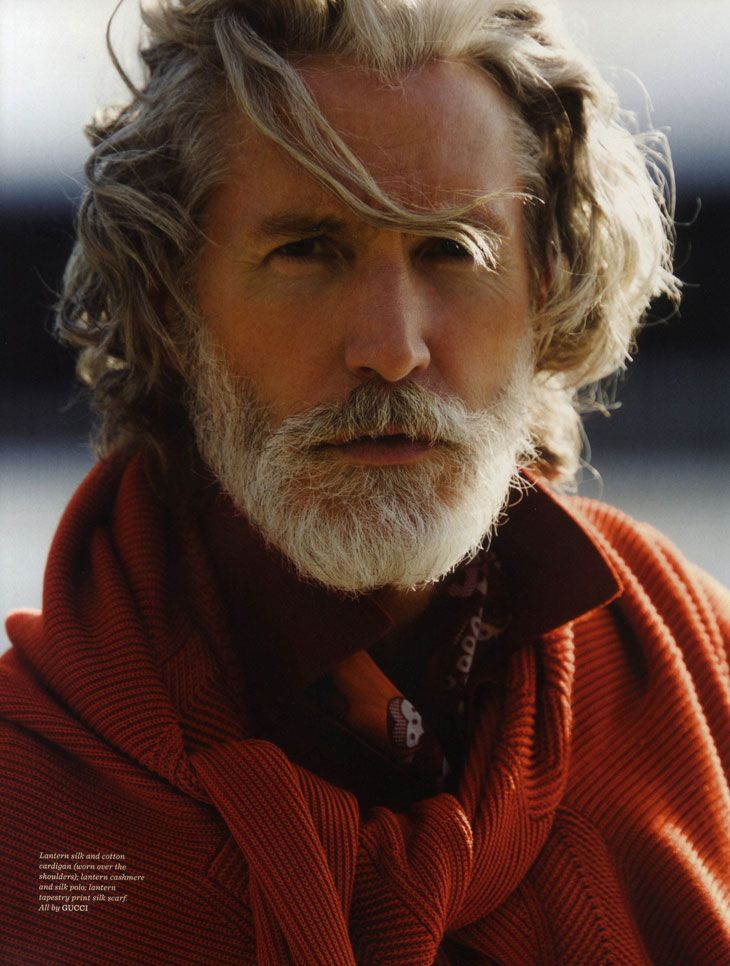 Aiden Aiden Shaw by Hans Feurer for GQ Style UK