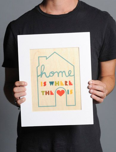Home Is Where the Heart Is | Paper | Pinterest