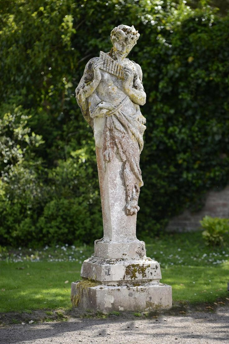 Best garden statues images on pinterest auction