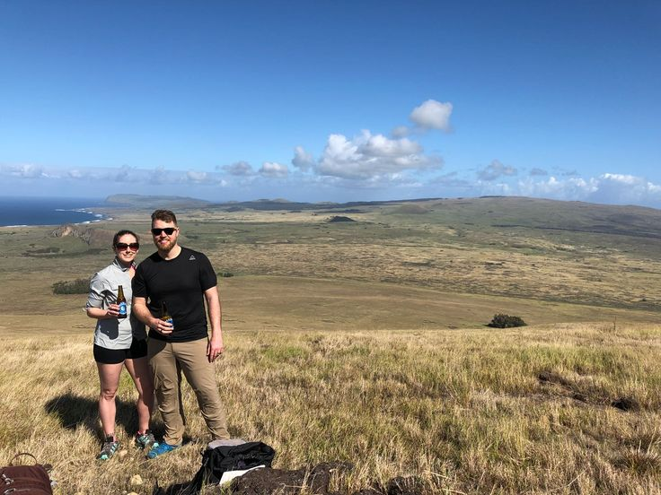 Come and enjoy this incredible view of the Poike volcano, listening to magic legends and drinking a rich and fresh local beer! :D   >> .Book directly with us here: info@easterisland.travel <<