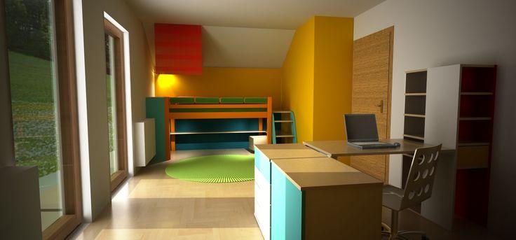 big children's room