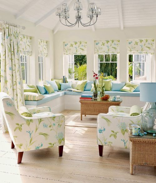 Sun Room Storage Ideas: 252 Best Images About Decorating With Blue & Green On