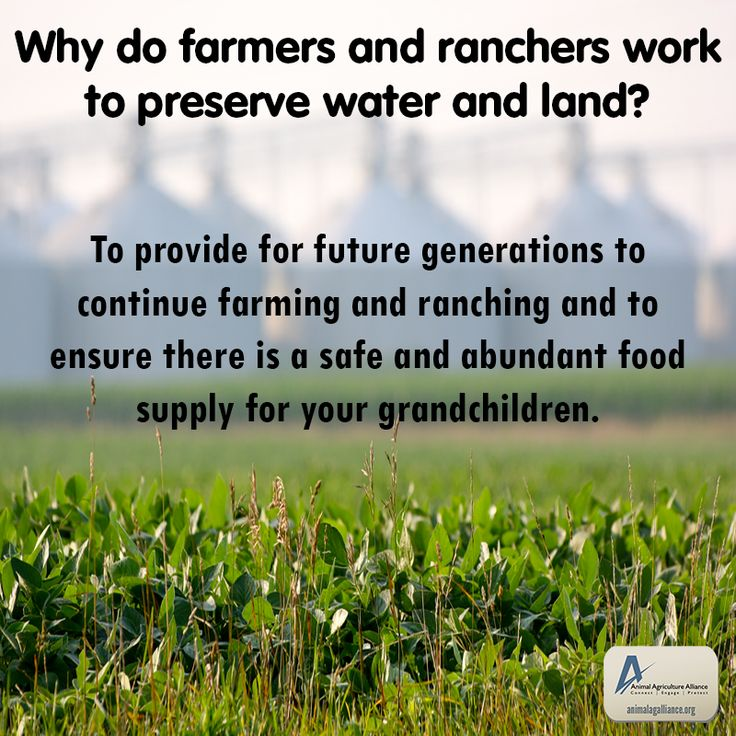 Nice Why Do Farmers And Ranchers Work To Preserve Natural Resources Such As  Water And Land?