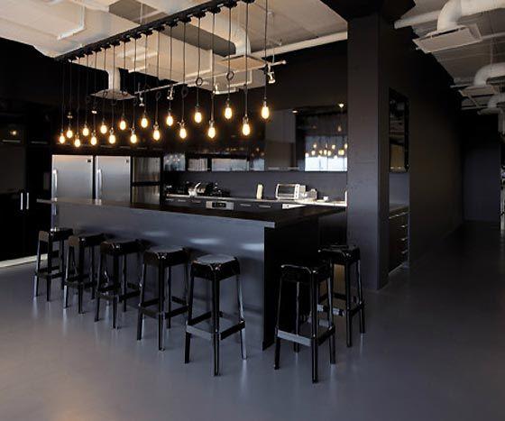 9 best open offices images on pinterest office designs for Office kitchenette design