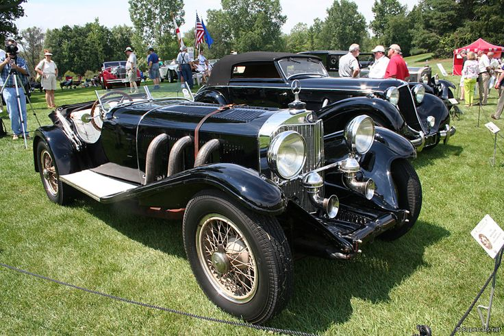 A Mercedes SSK, one of my dream cars.