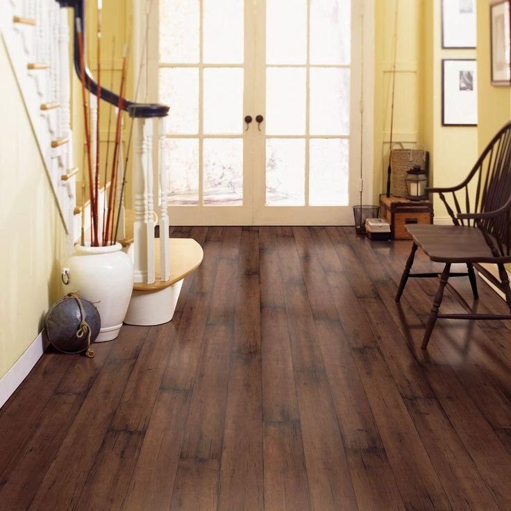 Hampton bay blackened maple 8 mm thickness x 4 7 8 in width x 47 1 4 in length laminate Home decorators laminate flooring installation