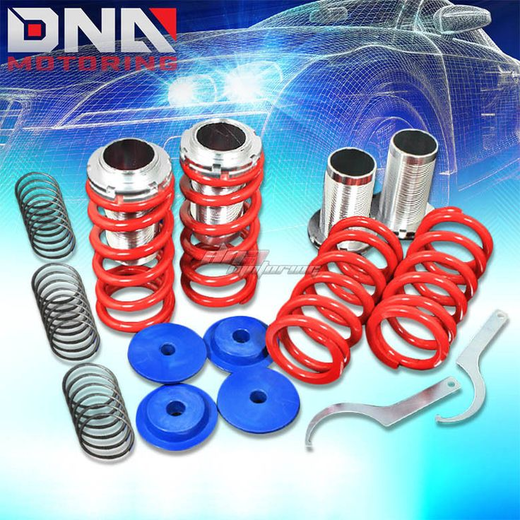 Toyota Celica 1994 99 T200 Monoss Coilovers: DNA Motoring Adjustable Coilovers Kit With Springs 0-3