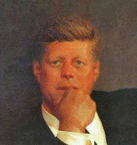 JFK by Jamie Wyeth