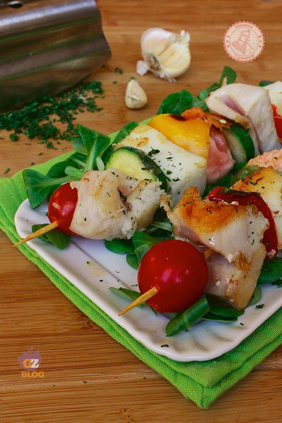 SPIEDINI DI PESCE LEGGERI ricetta secondo pesce facile