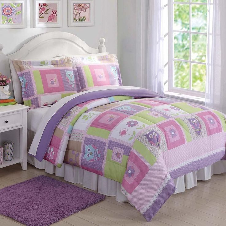 Happy Owls Kids Comforter Set