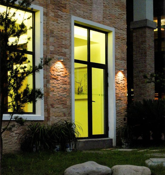 SIX | rendl light studio | Unidirectional wall Light with an 1x3W CREE LED light source and driver for outdoor use. #lights #garden #wall #LED