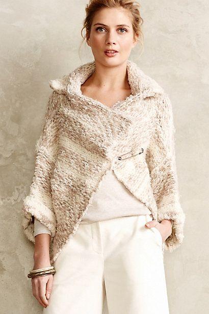 Neve Sweater Wrap - anthropologie.com. i love it...✿⊱•╮..☆ms amen ra ☆