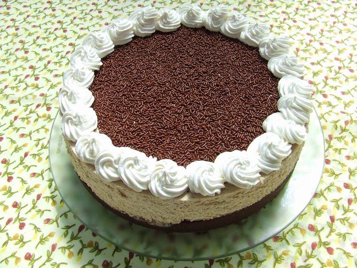 Nagymamám konyhájából,...: Gesztenye torta, a meleg napokra