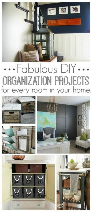 76 best images about DIY Home Organizing on Pinterest