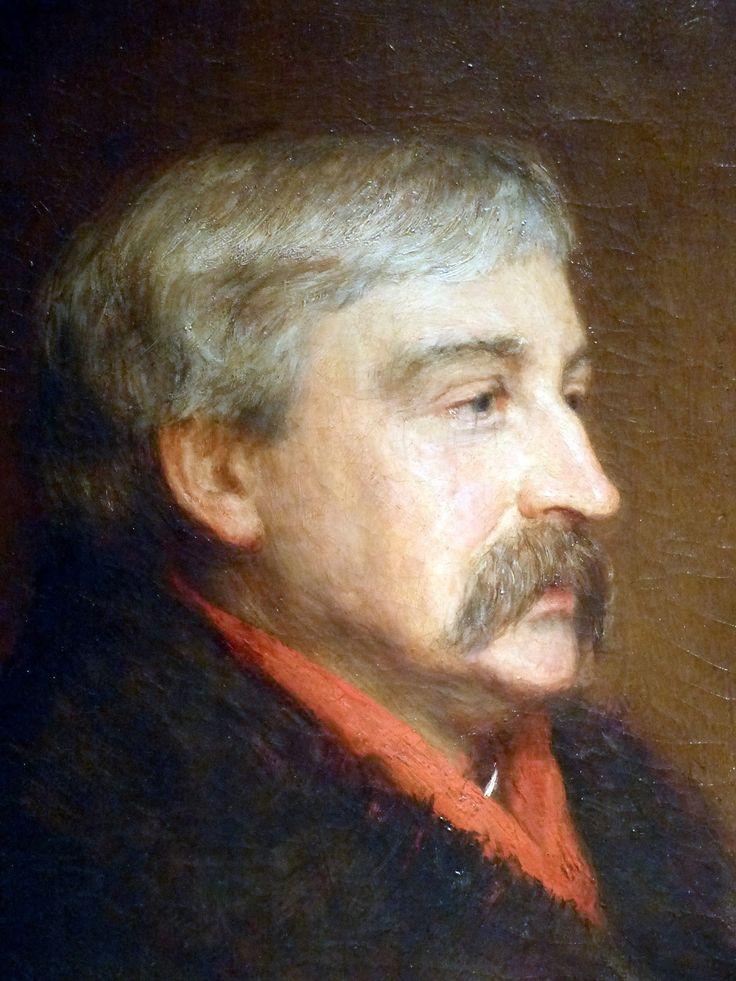 This 1884 portrait of Bret Harte by John Pettie hangs in the National Portrait Gallery in Washington, DC.