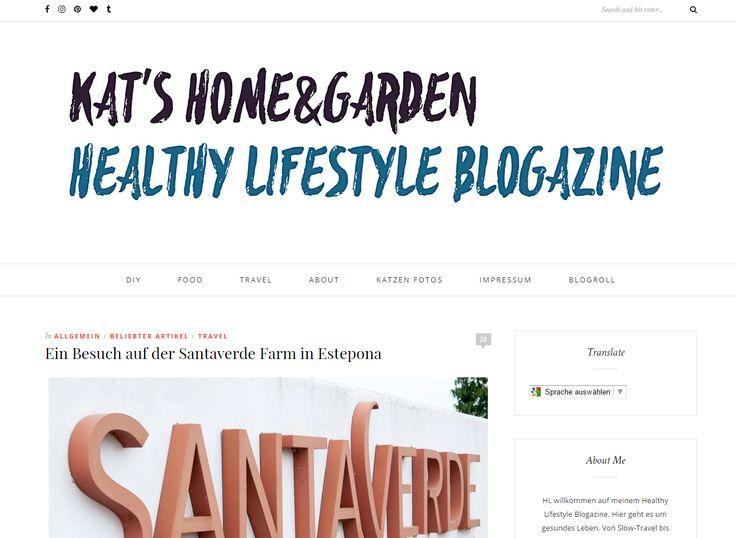 Gewinnt 10 vegane Naturkosmetik-Sets von Santaverde! Bei Kat's Home & Gardenkönnt ihr noch bis 16. Oktober 2016...