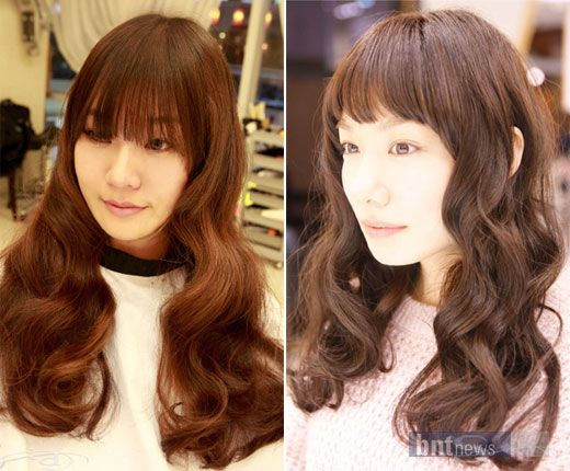 Enjoyable 1000 Ideas About Korean Perm On Pinterest C Curl Digital Perm Short Hairstyles Gunalazisus