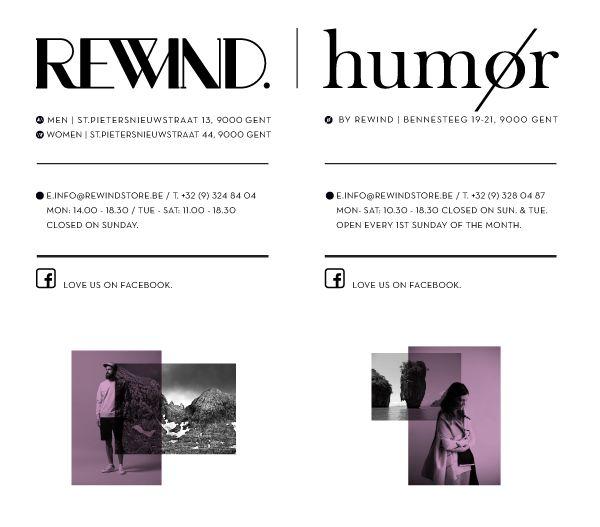 REWIND & HUMØR | Scandinavion fashion & objects | Gent | Citytrip