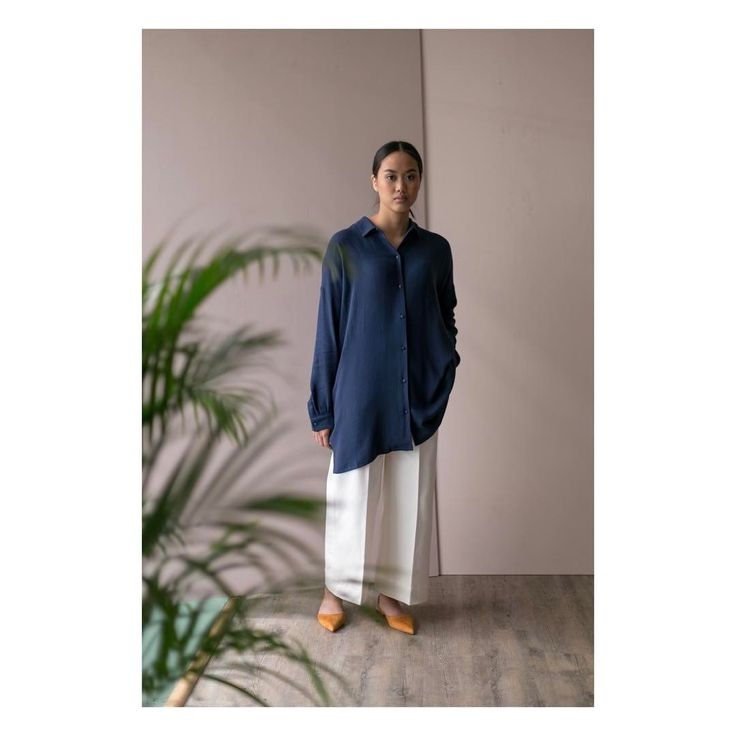 Discover Klara Shirt. - She is relaxed and casual, with soft lines.  #klarashirt #arvdesign