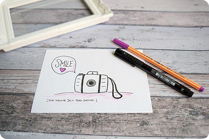 Smile! Denn hier könnte Dein Foto stehen. - Gutschein für ein Fotoshooting.