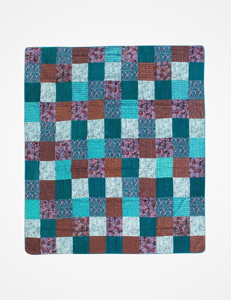 AZUR överkast turkos | 250 cm | Bedspread | Överkast & plädar | Inredning | INDISKA Shop Online