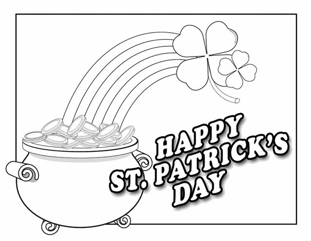 118 best Coloring: St.Patrick\'s Day images on Pinterest | Colouring ...