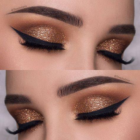 Luce increíble con un poco de #glitter #eyes #ojos #makeup #maquillaje #style