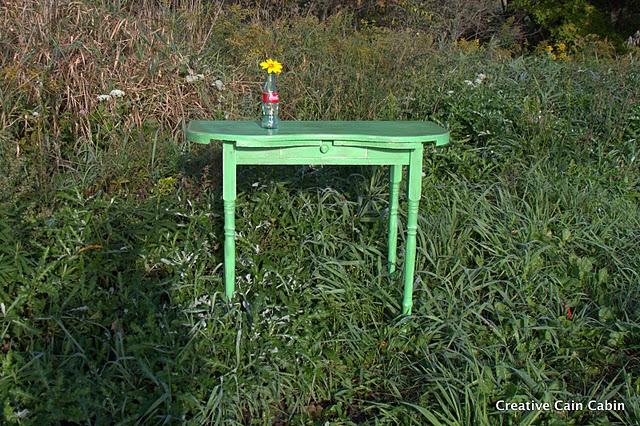 Antibes Green, Dressing Table, Chalk Paint
