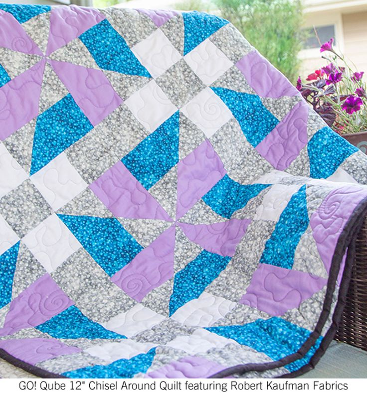 how to make a rag quilt go cutter