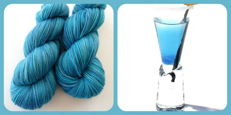 Blue Lagoon - Summer Cocktails | Red Riding Hood Yarns