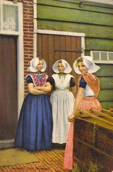 Dutch costume - ca. 1900
