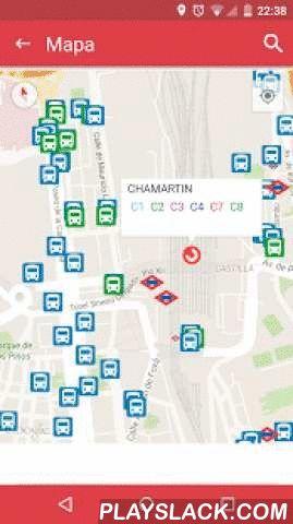 InterUrbanos Madrid Bus EMT  Android App - playslack.com , InterUrbanos Madrid Bus Metro EMT te dice el tiempo exacto de llegada de todos los transportes públicos de Madrid, incluyendo autobuses interurbanos, EMT, Metro, Cercanías y Metro ligero. Puedes buscar tu parada en el mapa, en la lista de paradas o utilizando el código de la parada. La información de tiempos se basa en el GPS integrado en la red de transporte de Madrid.También podrás consultar el saldo de tu tarjeta abono transporte…