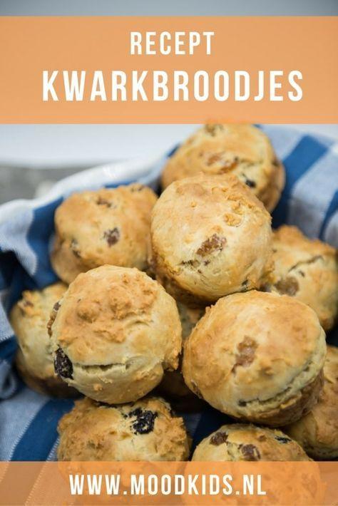 Met dit recept bak je heerlijke kwarkbroodjes. Volgens mijn kind net zo lekker als die van de bakker. ;) #kokenmetkinderen #bakken #kwarkbroodjes