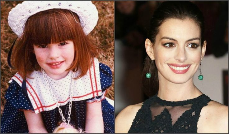 Anne Hathaway : A life in pictures