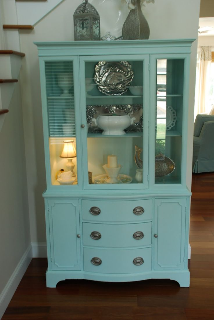 Diy Refinished And Painted Cabinet Reviews: Like The Style, The Color Wouldn't Work In