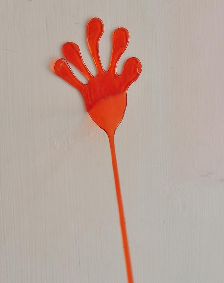 1pcs Novelty Funny Elastic Sticky Gags & Practical Jokes Slap Hands Palm Toy Children Kid Favor Gift