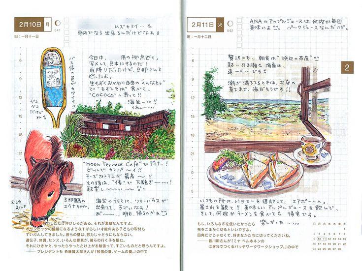 上田さんのほぼ日手帳 - ほぼ日刊イトイ新聞