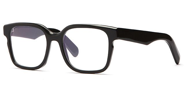 V2-S - Shiny Black - Optical Frame