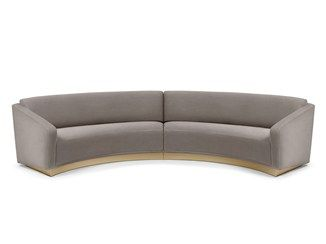 Best 25 Curved Sofa Ideas On Pinterest Curved Couch