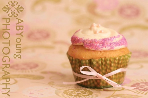 """Stay Calm Cupcake"" - Honey lavender flavor!: Gourmet Cupcake"